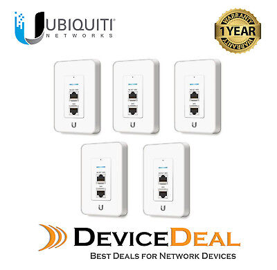 Ubiquiti Networks UniFi Enterprise 5 Pack In-Wall 2.4GHz WiFi Access Point - UAP