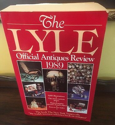 The LYLE Official Antiques Review 1989