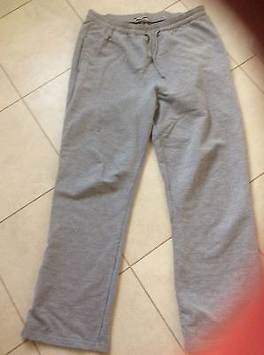 Womens Ladies Jogging Bottoms Tracksuit Loungewear Pants size 14 in Grey