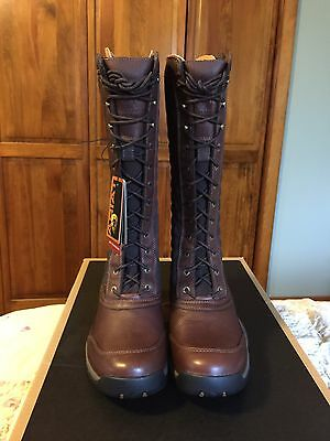Ariat Jena Insulated Riding Boot Thinsulate Lace 9.5 Brown Waterproof Ladies