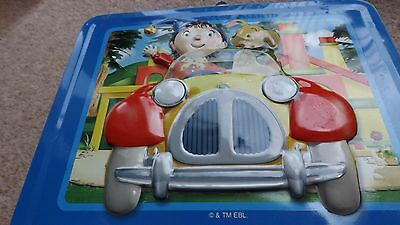 Noddy, vintage tin lunch box, rare , collectable, 3D