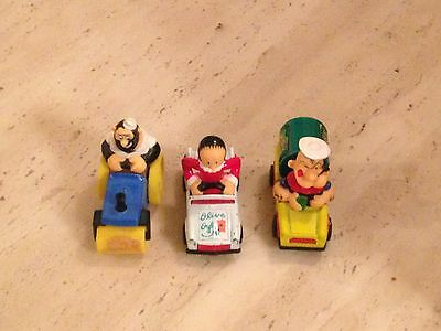 Matchbox Popeye Set! Vintage Diecast Cars Vehicles Set Of 3 1980 Olive Oyl Bluto