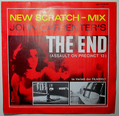 "12""Maxi Single John Carpenter The End (New Scratch-Mix) RED LABEL   Zyx"
