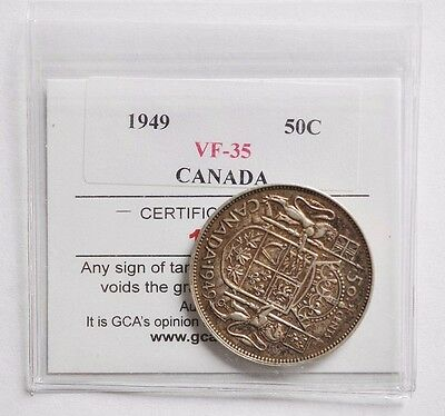 1949 Canada 50 Cents Coin