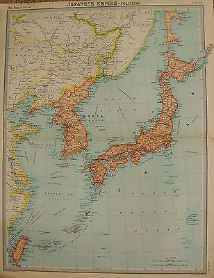 1920  Large  Map : Japanese Empire, Political Map