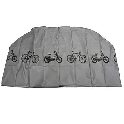 Bike Bicycle Cycling Rain And Dust Protector Cover Waterproof Protection ED