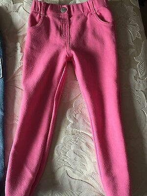 Girls Pink Trousers Age 3 / 4