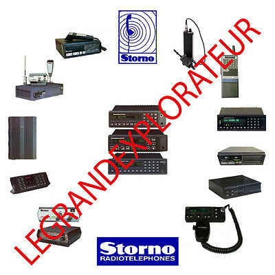 Ultimate Storno Radio Operation Repair Service Manuals  140 PDF manual on 2 DVDs