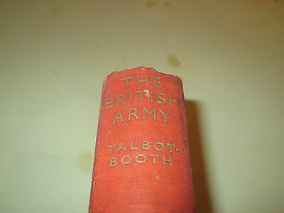 The British Army Talbot-Booth WW2 Book Badges Uniforms Customs of Regiments
