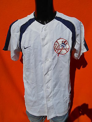 NEW YORK YANKEES Jersey Maillot Camiseta American League Nike Baseball MLB NY