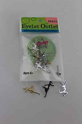 Eyelet Outlet Gymnasts Brads (12pc)