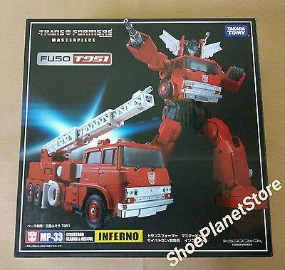 Takara Tomy Transformers Masterpiece Mp-33 Inferno Mp33 Disponibile