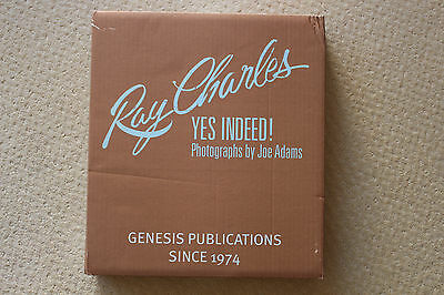 Ray Charles - Yes Indeed! signed D.Ritz book & DVD set GENESIS PUBLICATIONS mint