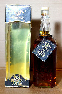 Jack Daniels 1895 Replica Bottle Tennessee Whiskey, 100cl, 43%vol. Box/Tag