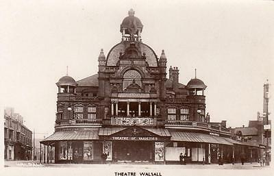 Theatre Walsall unused RP pc WHS Kingsway Ref A335