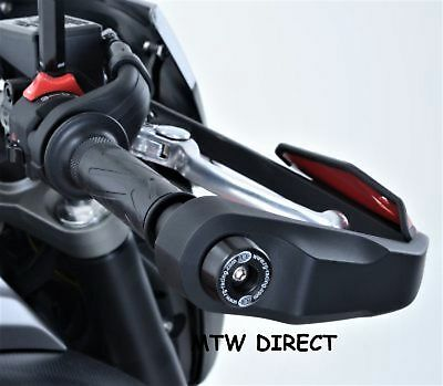 R&G RACING ONE PAIR BAR END SLIDERS PROTECTORS Yamaha MT-07 MOTO CAGE (2016)