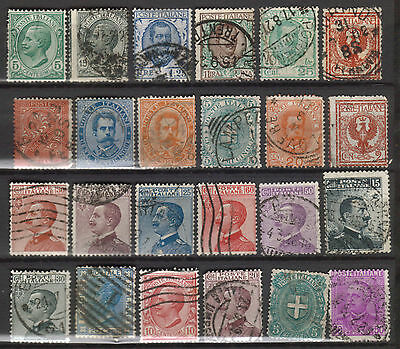 Italy - Various Earlier Issues - Used