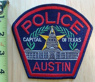 Austin Texas Police Patch, New, Never Sewn