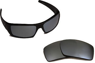New OW Replacement Lenses for Oakley GASCAN Black Iridium Mirror