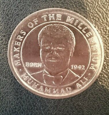 2000 Makers of the Millennium Coin, Muhammad Ali, Collectable, House Clearance