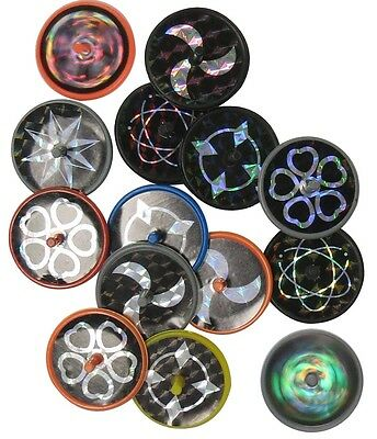Bulk Lot x 100 Laser Disc Mini Spinning Tops New Kids Novelty Toy Party Favors