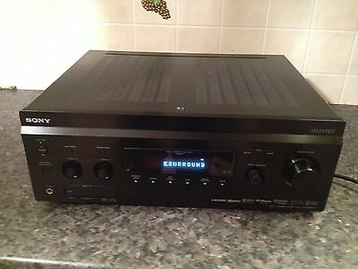 sony surround sound receiver da 3500es excellent working order