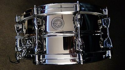"Tama Starphonic Nickel plated brass Snare 14"" x 6"""