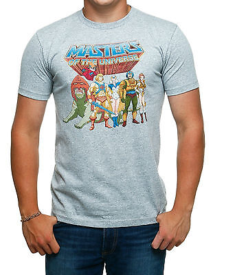 Masters Of The Universe Group Pose T-Shirt - New - Large - He-Man
