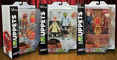 2016 The Muppets Select Series 2 Action Figure Set!