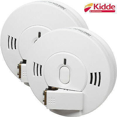 Kidde Combined Smoke And Carbon Monoxide Alarm Detector 10SCO Pack of 2