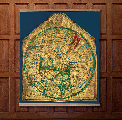 Folio Society Limited Numbered THE HEREFORD WORLD MAP: Mappa Mundi
