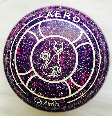AERO OPTIMA size 1.5H WB24, Z Scoop gripped, Colour Is Purple, Magenta And White
