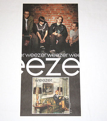 WEEZER Maladroit 24''x12'' Limited Poster (Lithograph) - RARE