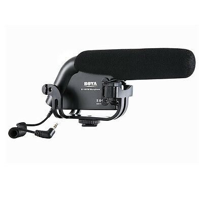 BY-VM190 Stereo Video Shotgun Microphone for Canon Nikon Camera Camcorder Acc