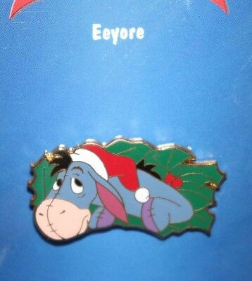 Disney Eeyore Christmas Wreath Bow Winnie the Pooh Pin 12 Month of Magic Puzzle