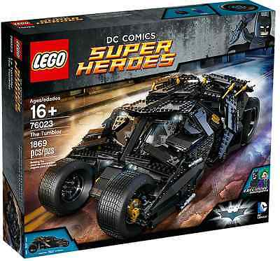 Lego 76023 DC Comics Super Heroes: The Tumbler - Brand New (Hard To Find)