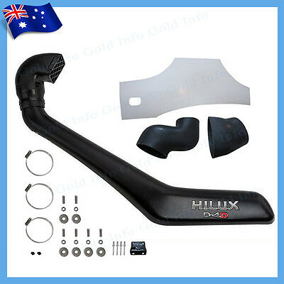 Snorkel Kit Toyota HiLux 2005 Onwards 25 26 series SR/5 Petrol Diesel Air Intake