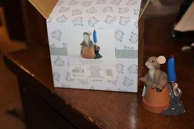 Enesco Charming Tails 2011 Leaf & Acorn Club Ready To Grow With You