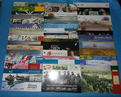 * Isle Of Man Mint Stamp Presentation Packs 2006 -2013 - Select Individual Pack