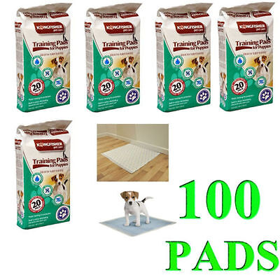 100X Large Puppy Pads Dog Pee Pad Cat Pet Potty Training Pads Large Pee Mat Pad