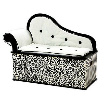 Wild Side Kids Chaise Lounge with Storage Compartment by Levels of Discovery