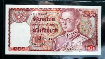 Thailand Banknote 100 Baht Series12 P#89 SIGN#63