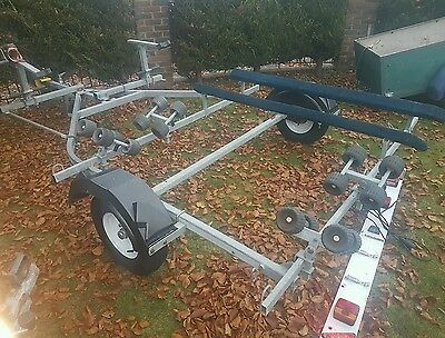 Double Jet Ski trailer ideal for one Fourstroke and one Stand Up or Seadoo Spark