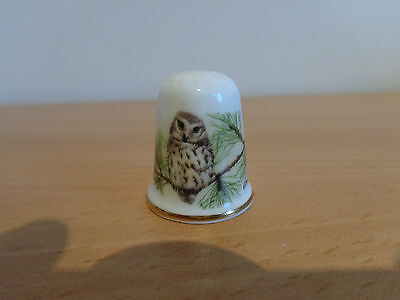 The Little Owl By Oakley China Made In England Fine Bone China