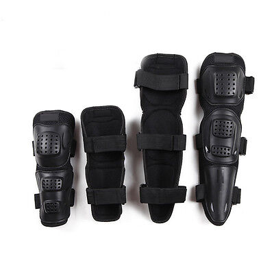 New 4pcs Elbows Knees Protective Pads Guard For Motorcycle Cycling Bike PK