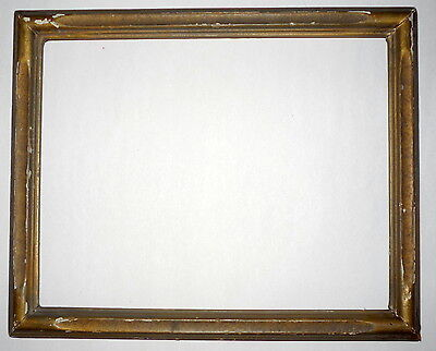 "Antique Newcomb & Macklin Style Gold 10"" x 8"" Wood Carved Picture Frame"