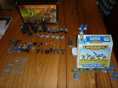 Warhammer space marine plus build your figurines collection