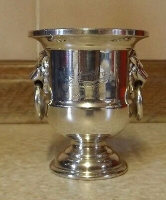 Viners Of Sheffield - Cocktail Stick Holder - Super 7 Hovercraft - Silver Plated