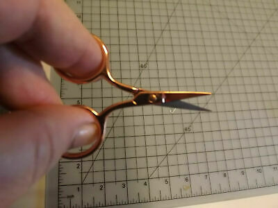 Embroidery Scissors Small , mini size styles of Stork, Rose Gold or Rainbow
