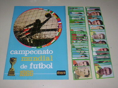 WORLD CUP 1966 ENGLAND 66 DISGRA  Empty Album + set of stickers 100% Complete!
